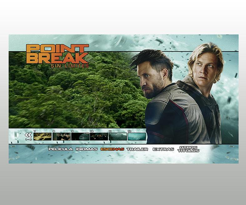 DVD y BD Point Break