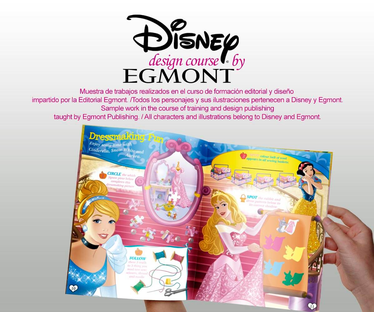 course of Disney and Egmont00